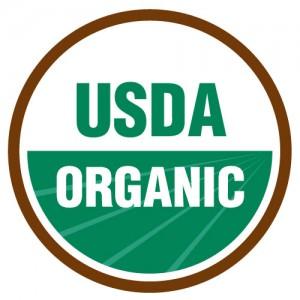 Logo de agricultura ecológica en EEUU