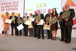 Cañete y su discurso de presentador en los Premios Alimentos de España